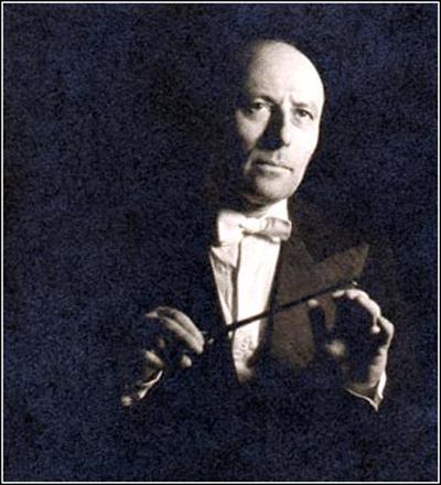 ヴァイオリニストであり指揮者でもあったガストン・プーレ
